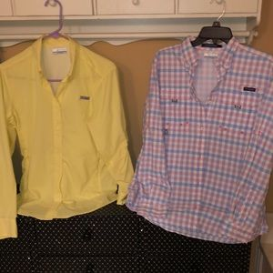 EUC Columbia shirts